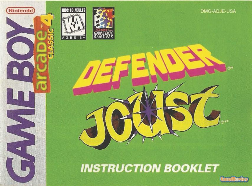 Arcade Classic No. 4 - Defender & Joust (USA, Europe)_Page_01.jpg