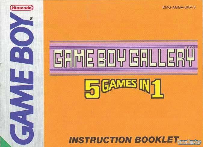 Nintendo Game Boy Game Manuals Pack