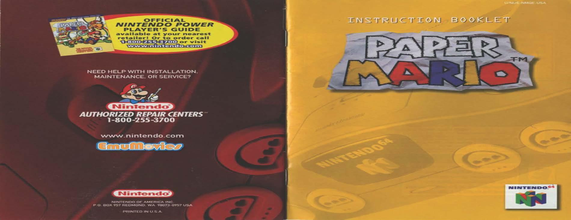 Nintendo 64 Game Manuals Pack
