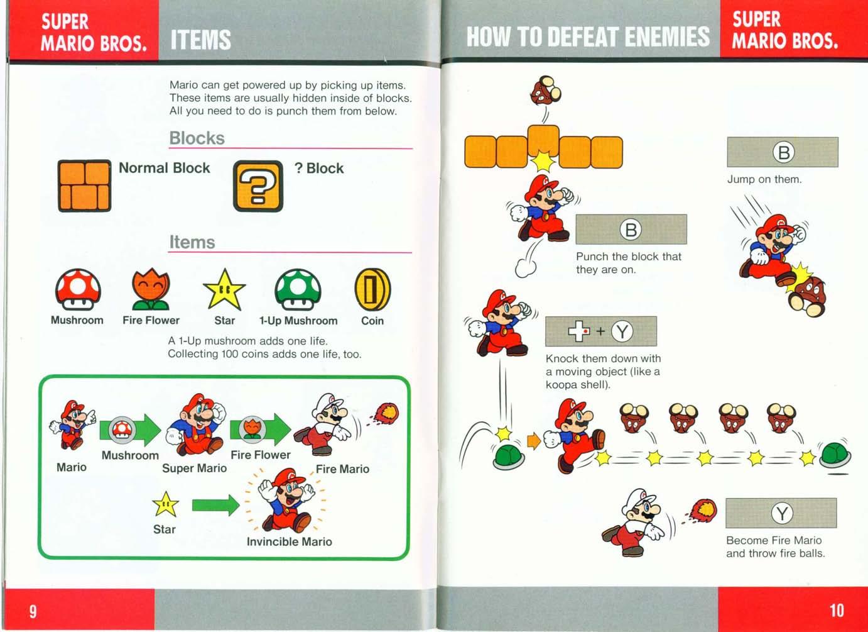 Super Nintendo Game Manuals Pack