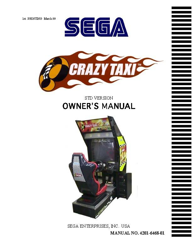 MAME Game Manuals Pack
