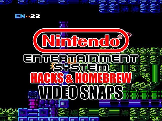 Nintendo NES Hacks & Homebrew Video Snaps Pack (SQ)
