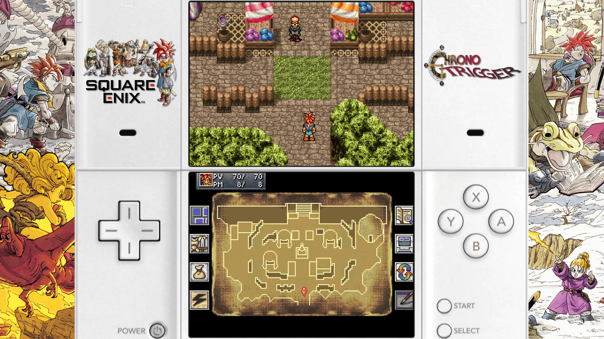 Nintendo DS Bezels/Overlays