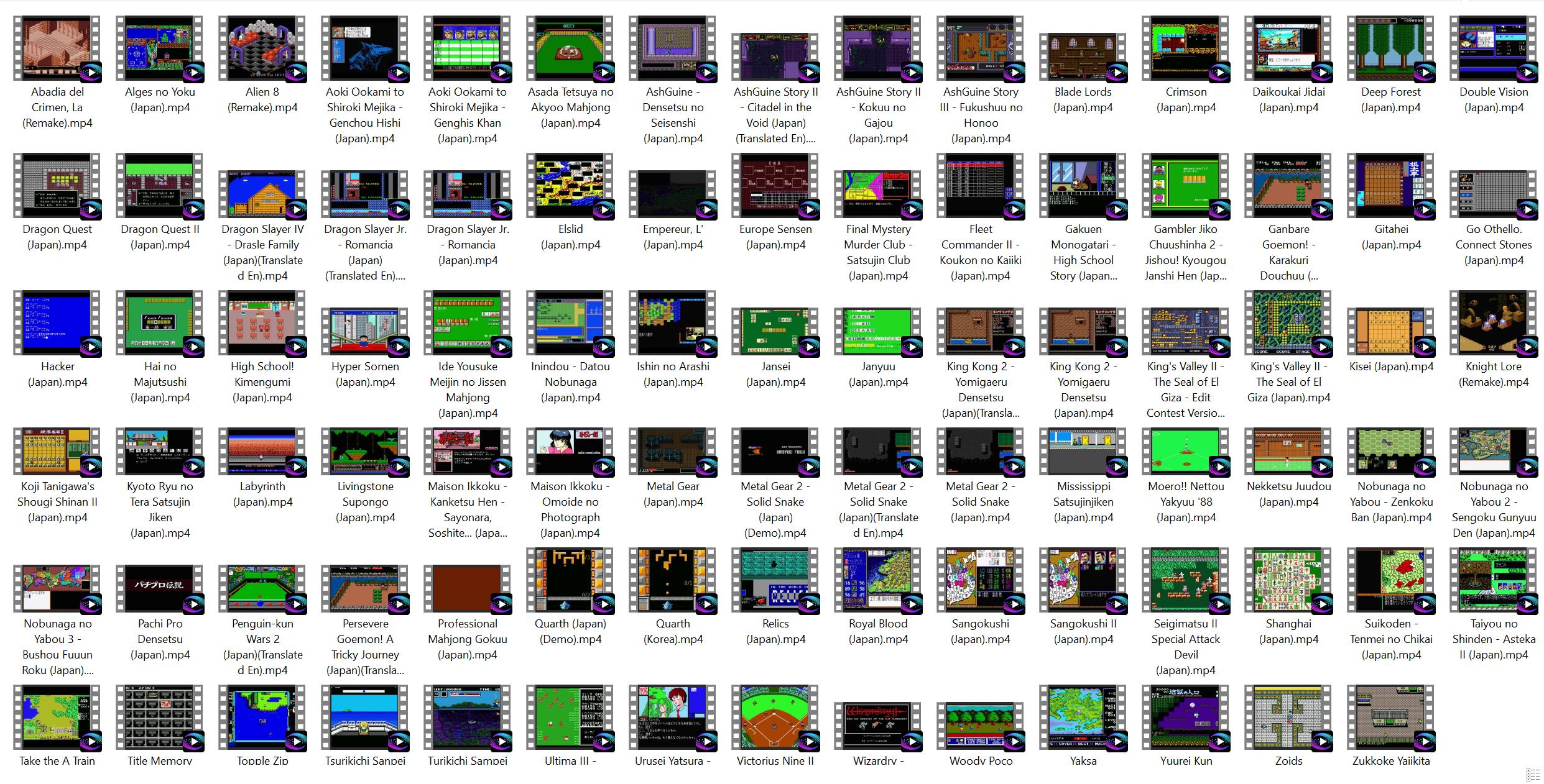 Microsoft MSX2 Video Pack Custom 1.0.0