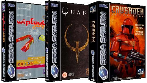 Sega Saturn 3D Boxes Pack (Europe)
