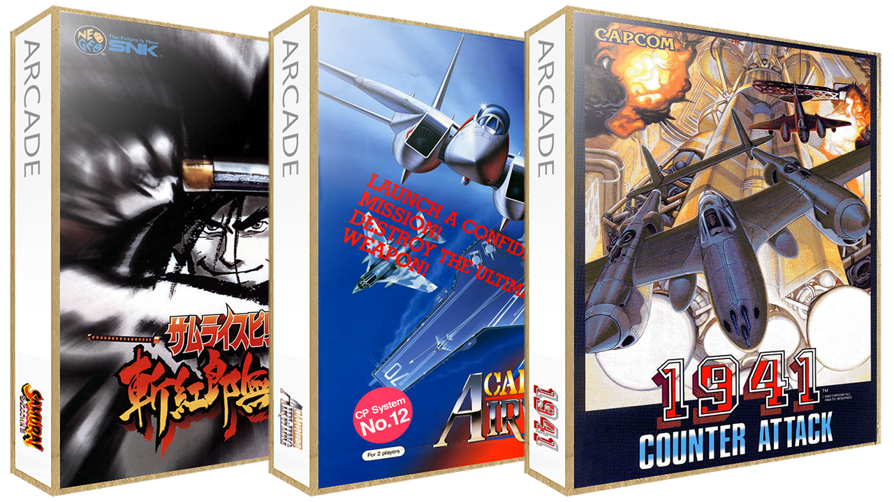 MAME 3D Boxes Pack