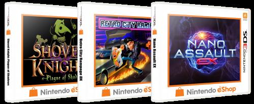 Nintendo 3DS eShop 3D Boxes Pack