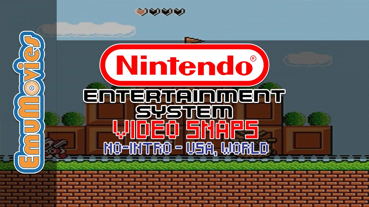 Nintendo Entertainment System Video Snaps Pack (No-Intro) (USA, World) (SQ)