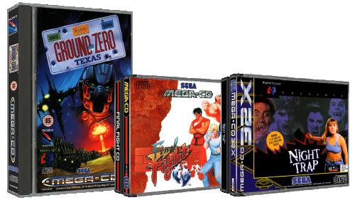 Sega Mega CD 3D Boxes Pack (Europe)