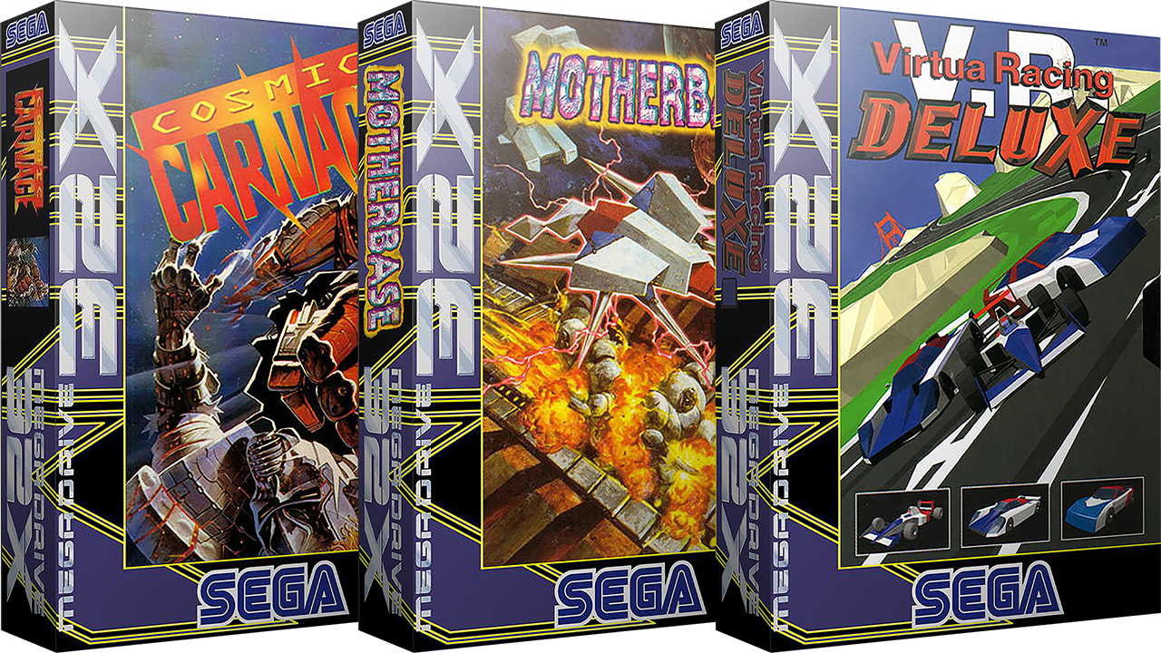Sega 32X 3D Boxes & Carts - Europe (46)