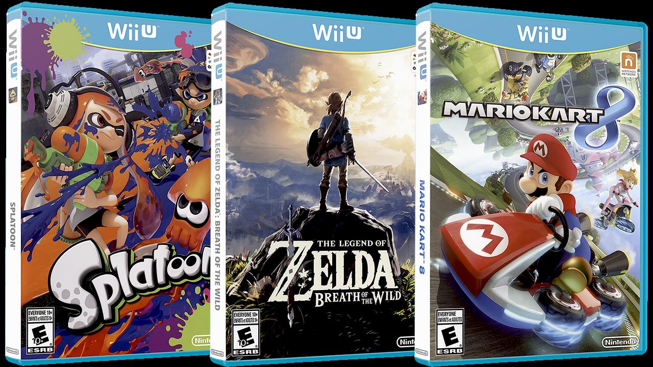 Nintendo Wii U 3D Boxes Pack