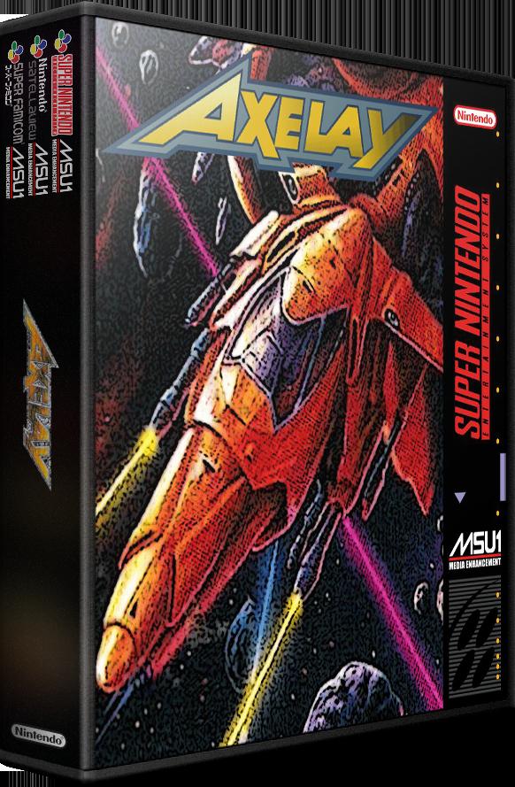 SNES MSU-1 Alternate Fan 3D Boxes (Mr. Retrolust Style)