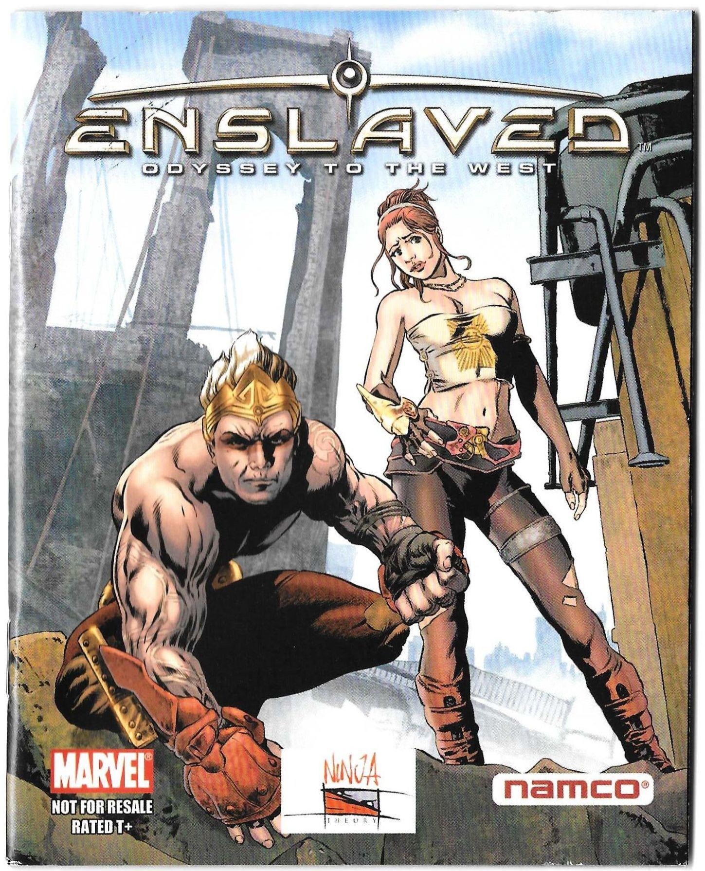 Enslaved Odyssey to the West supplemental comic book