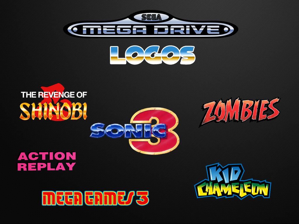 Sega Mega Drive Logos (Europe)
