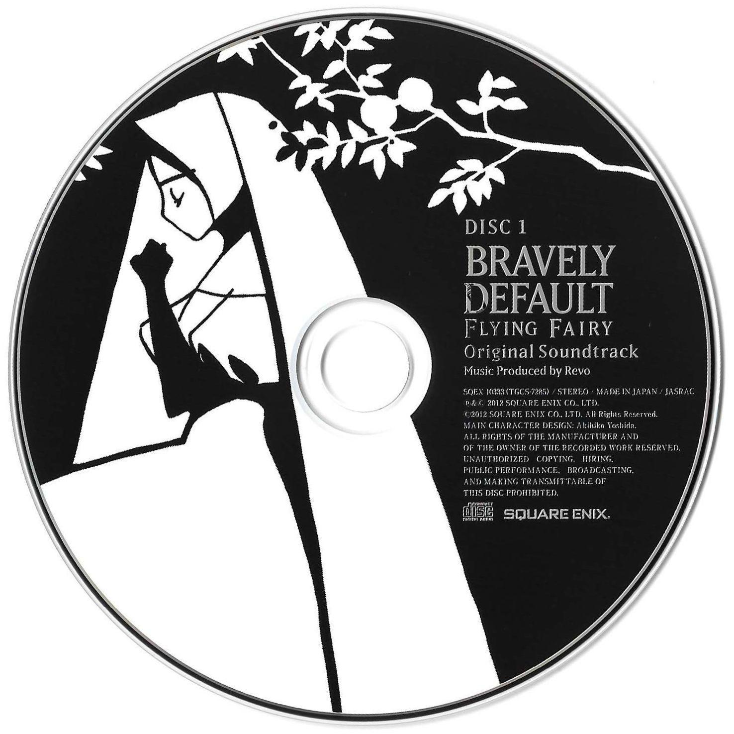 Bravely Default Flying Fairy Album: Disc 1, Artbook, Artwork, Sleeve