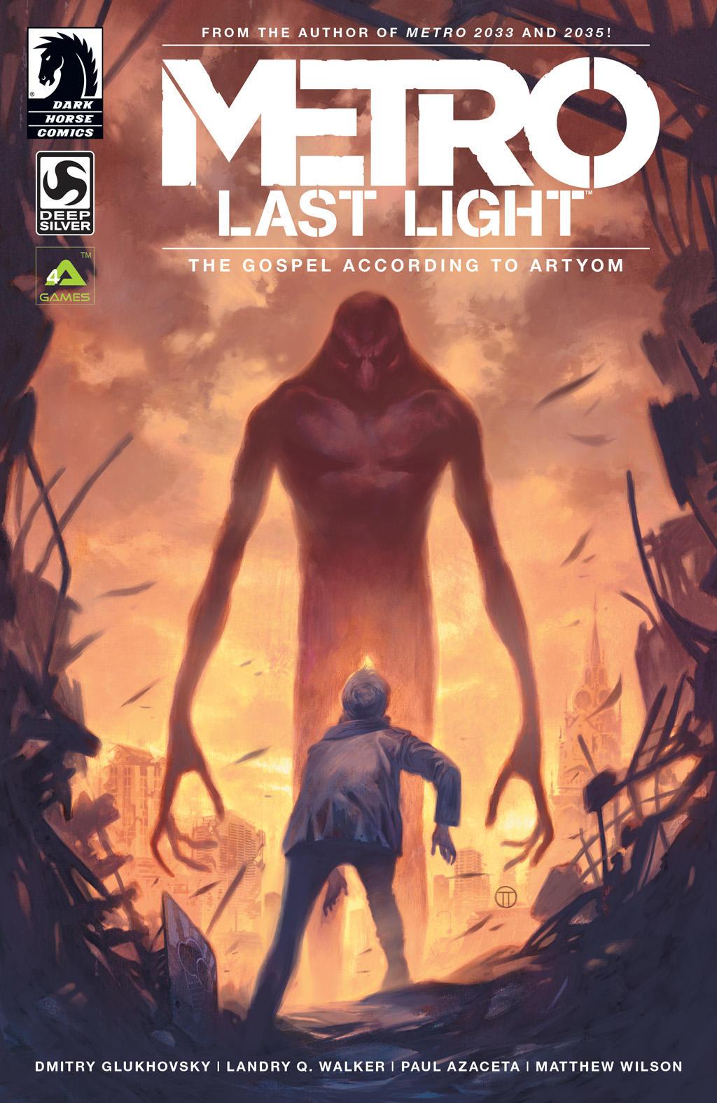 Metro Last Light Amazon Exclusive Pre-Order Comic
