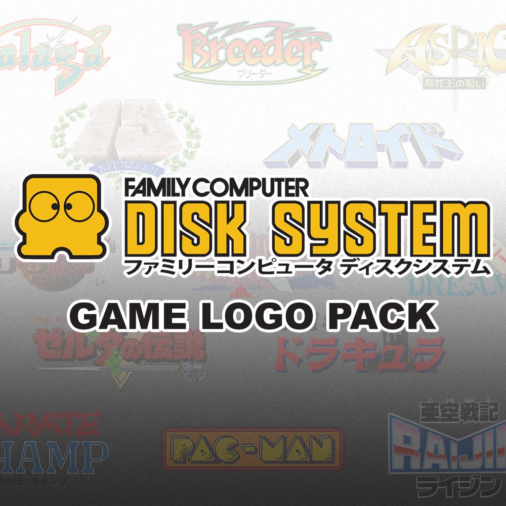 Nintendo Famicom Disk System - Clear Logos