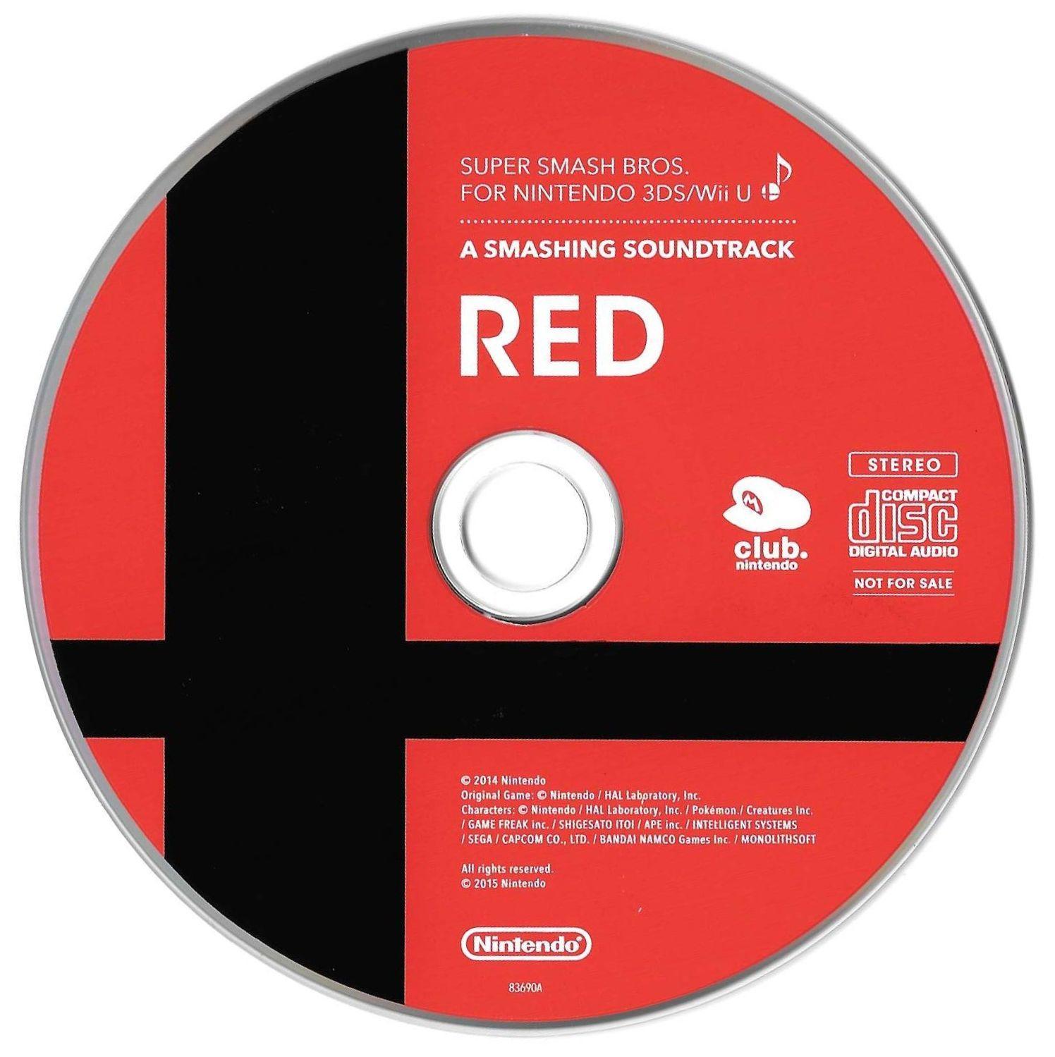 Super Smash Bros. for 3DS/Wii U Soundtrack Artbook, Artwork, Disc 1