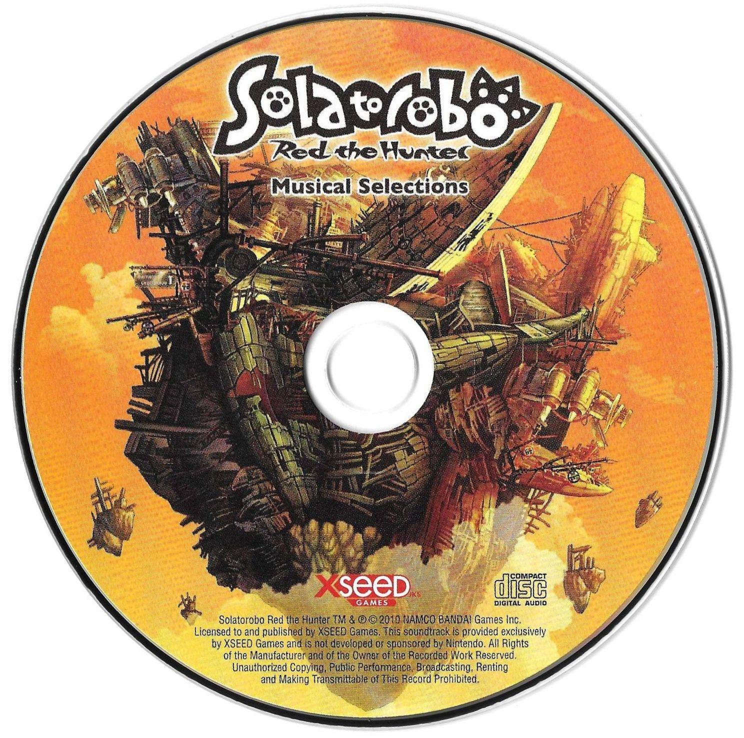 Solatorobo: Red the Hunter Musical Selections
