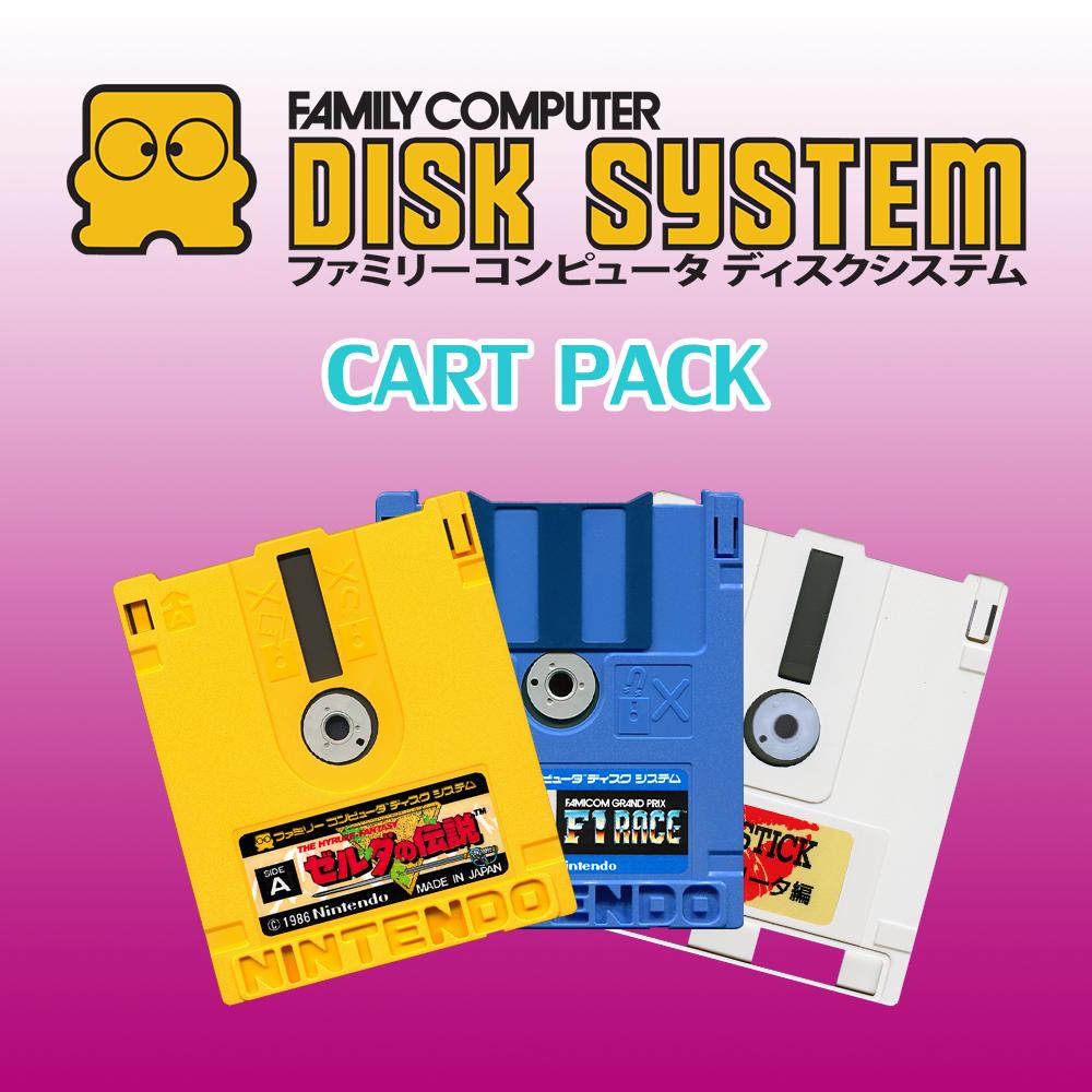 Nintendo Famicom Disk System - Cart Pack