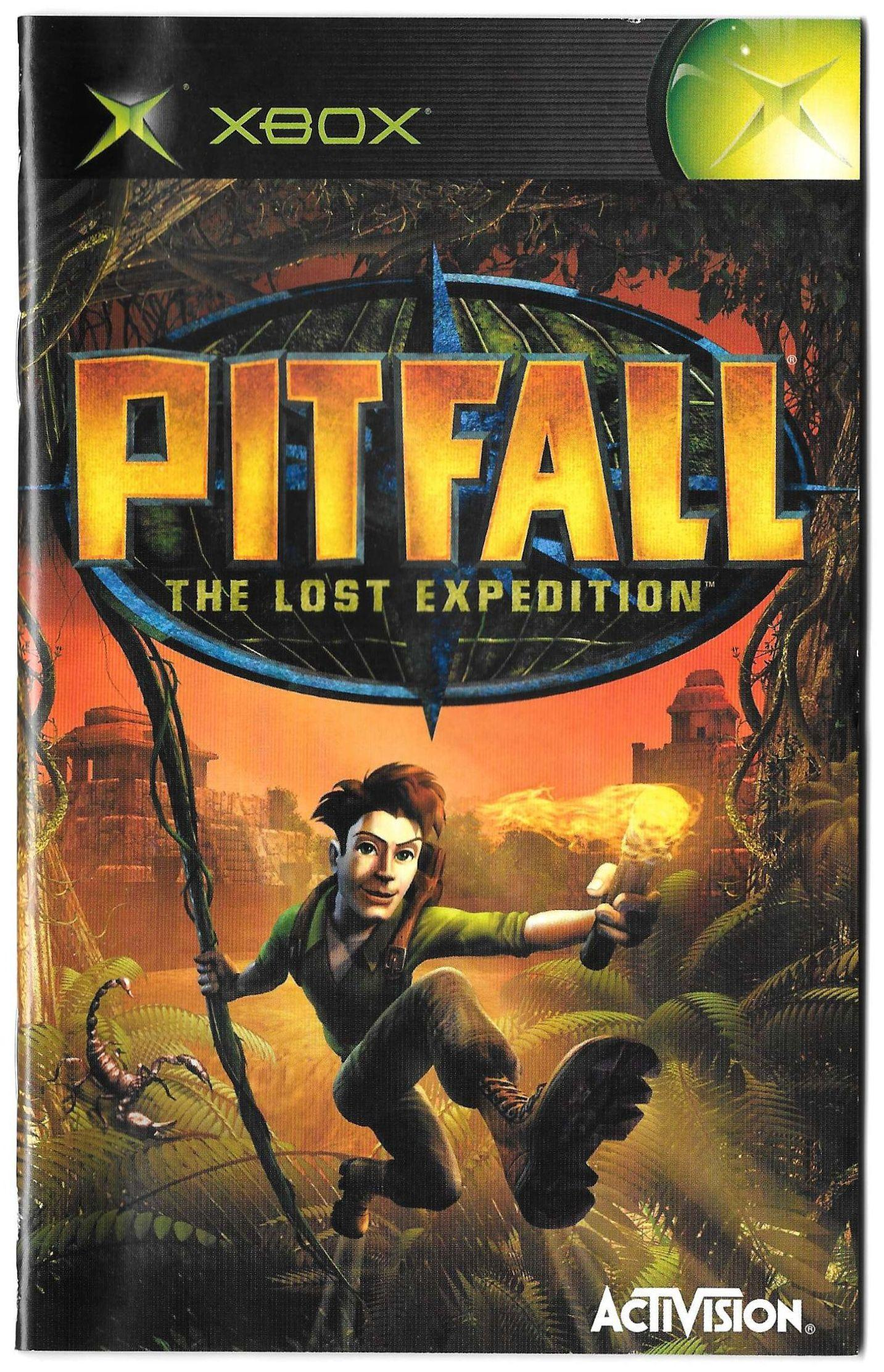 Pitfall: The Lost Expedition manual (XBOX)