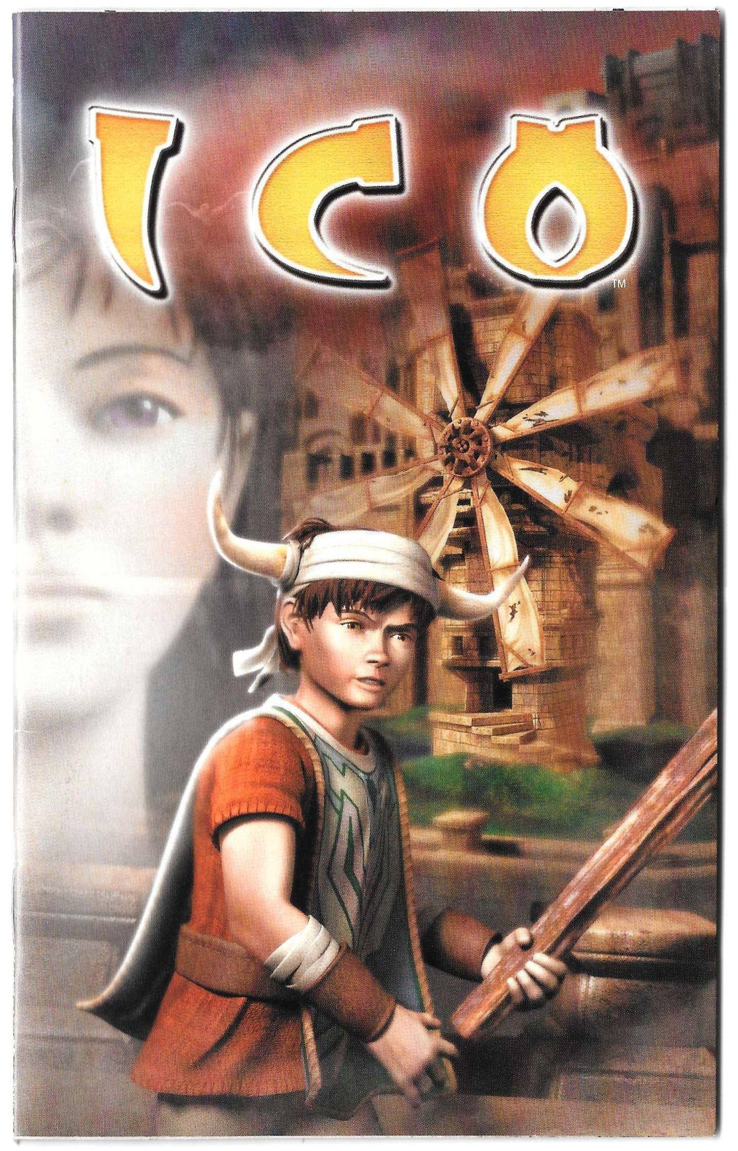 ICO manual (PS2)