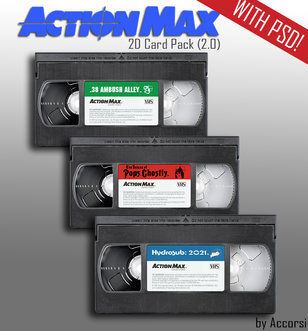 WOW Action Max 2D VHS/Cart Pack (HD)