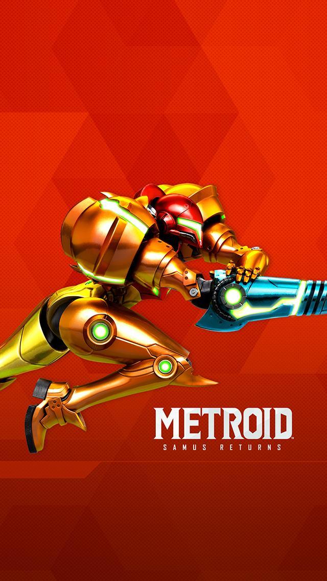 Wallpaper A - Metroid: Samus Returns