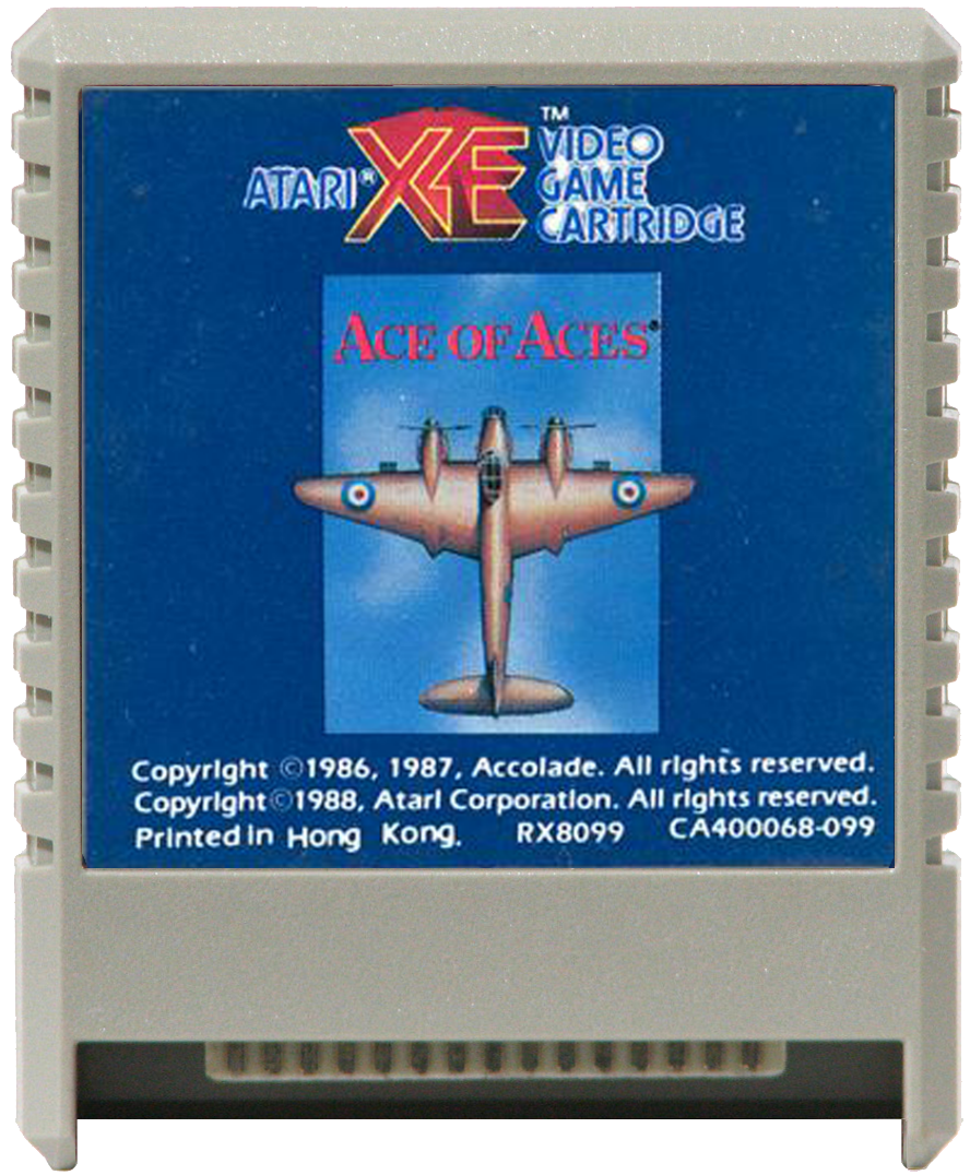 Atari XEGS 2D Game Carts