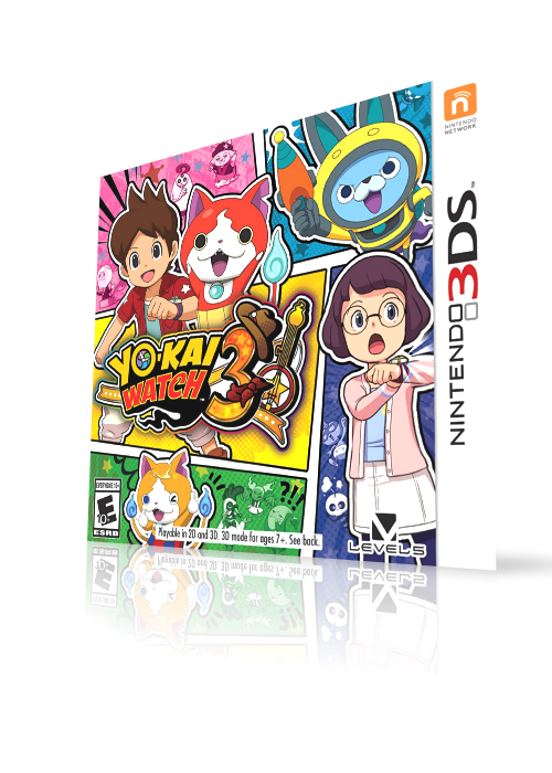Yo-Kai Watch 3 (3DS) HQ video snap