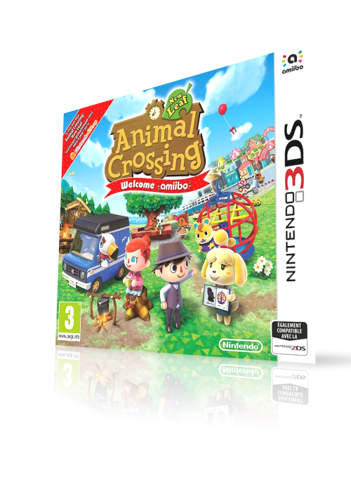Animal Crossing - New Leaf - Welcome amiibo (3DS) HQ video snap