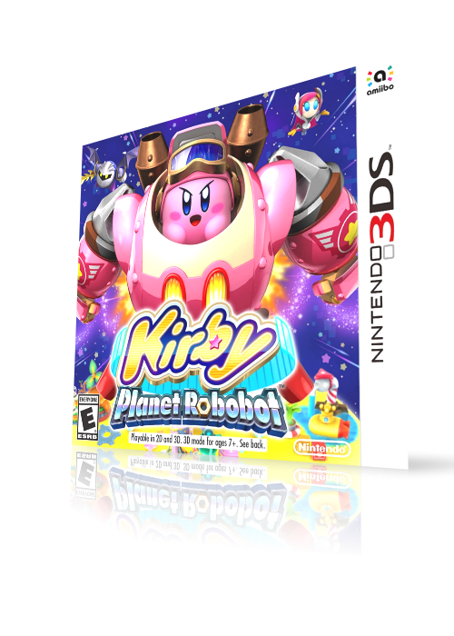 Kirby - Planet Robobot (3DS) HQ video snap