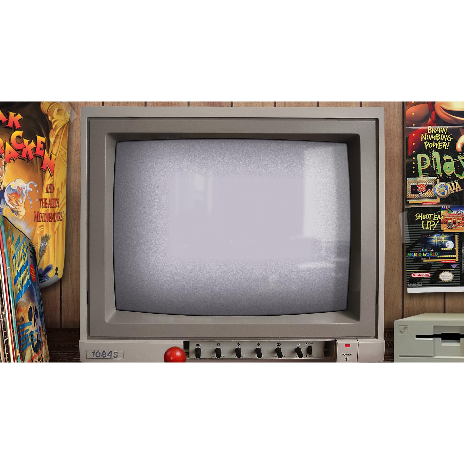 Commodore Amiga Realistic Bezel for WinUAE