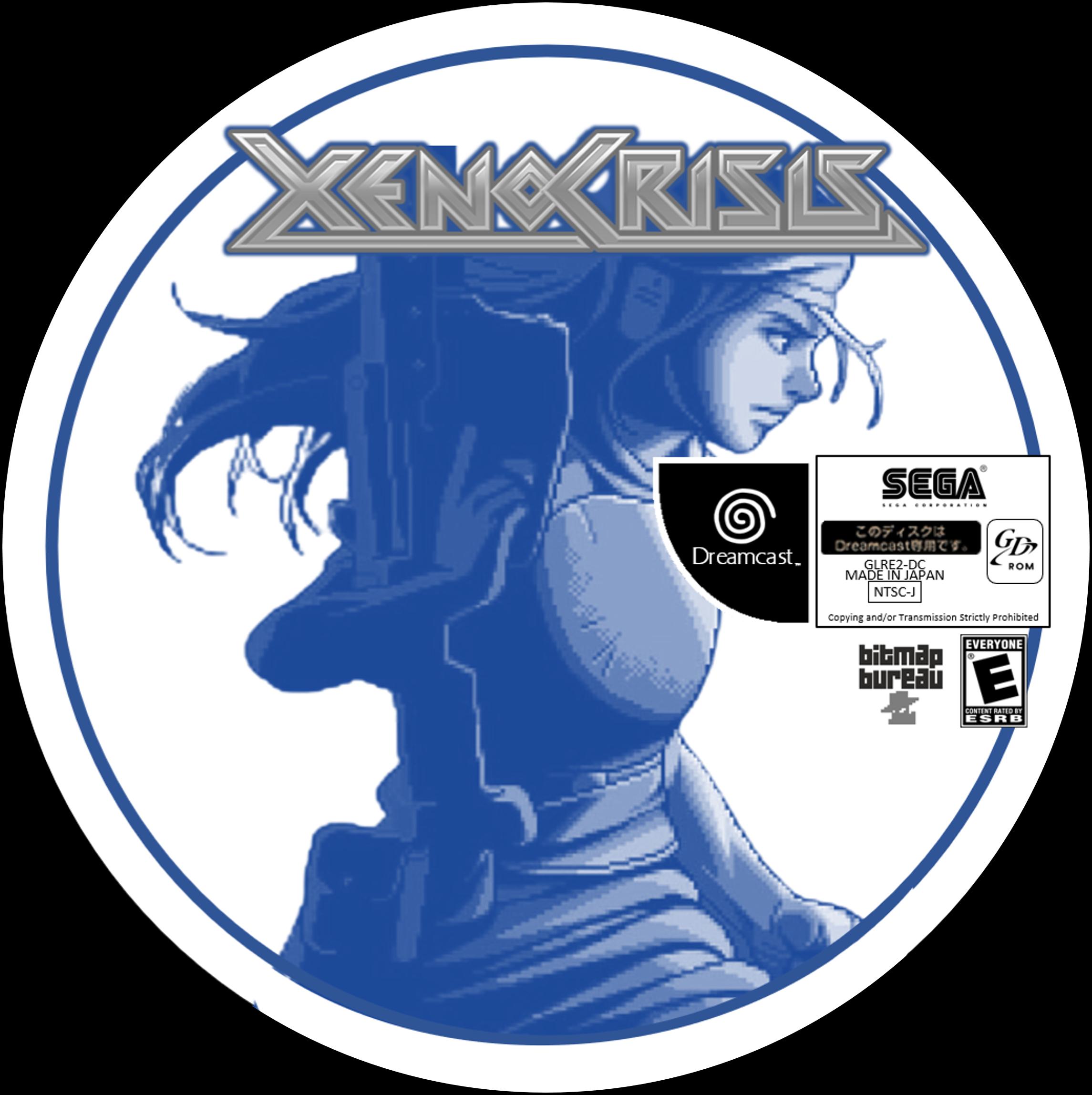 Xeno Crisis Disc (Sega Dreamcast JP)