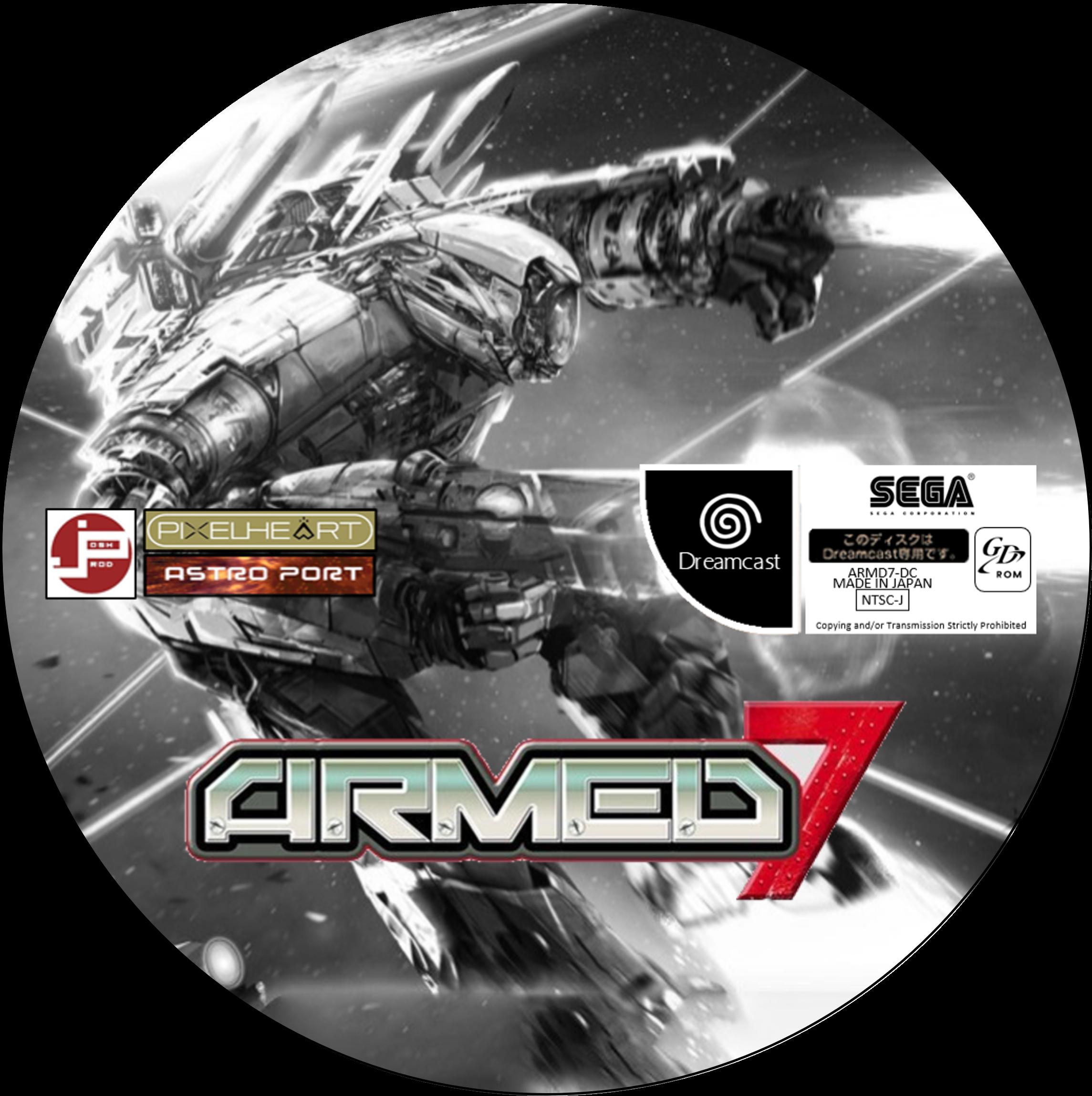 Armed 7 Disc (Sega Dreamcast JP)