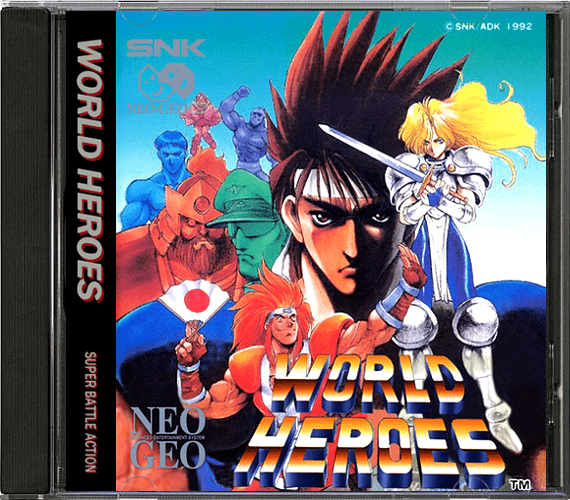 SNK Neo Geo CD 2D Boxes Pack