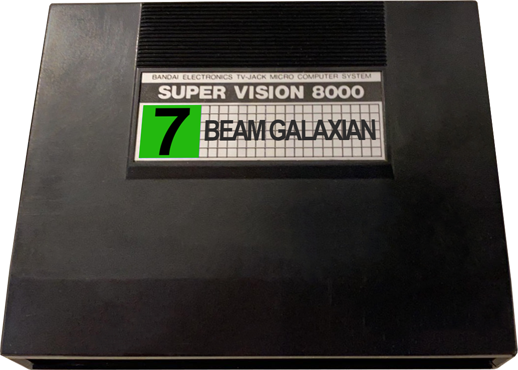 Bandai Super Vision 8000 3D Carts Pack