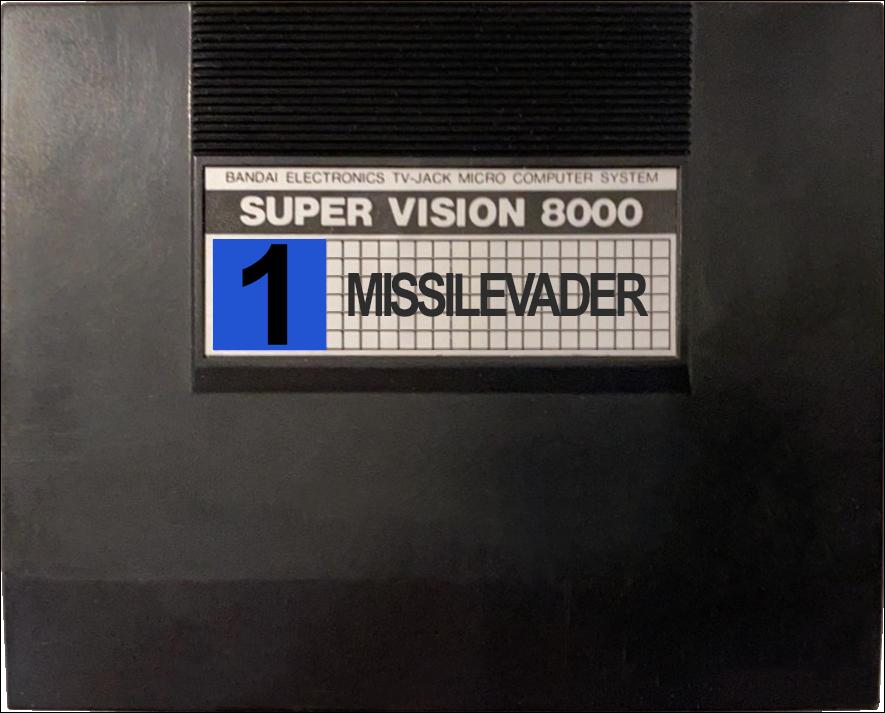 Bandai Super Vision 8000 2D Carts
